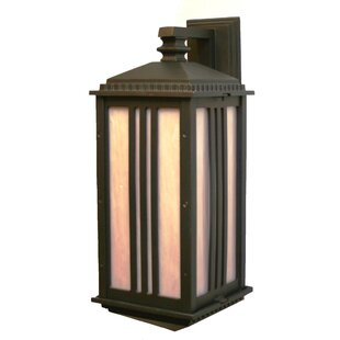 Bargain Petrey 1-Light Outdoor Wall Lantern By Alcott Hill