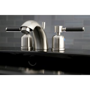 Kingston Brass Kaiser Widespread Bathroom Faucet with Drain Assembly
