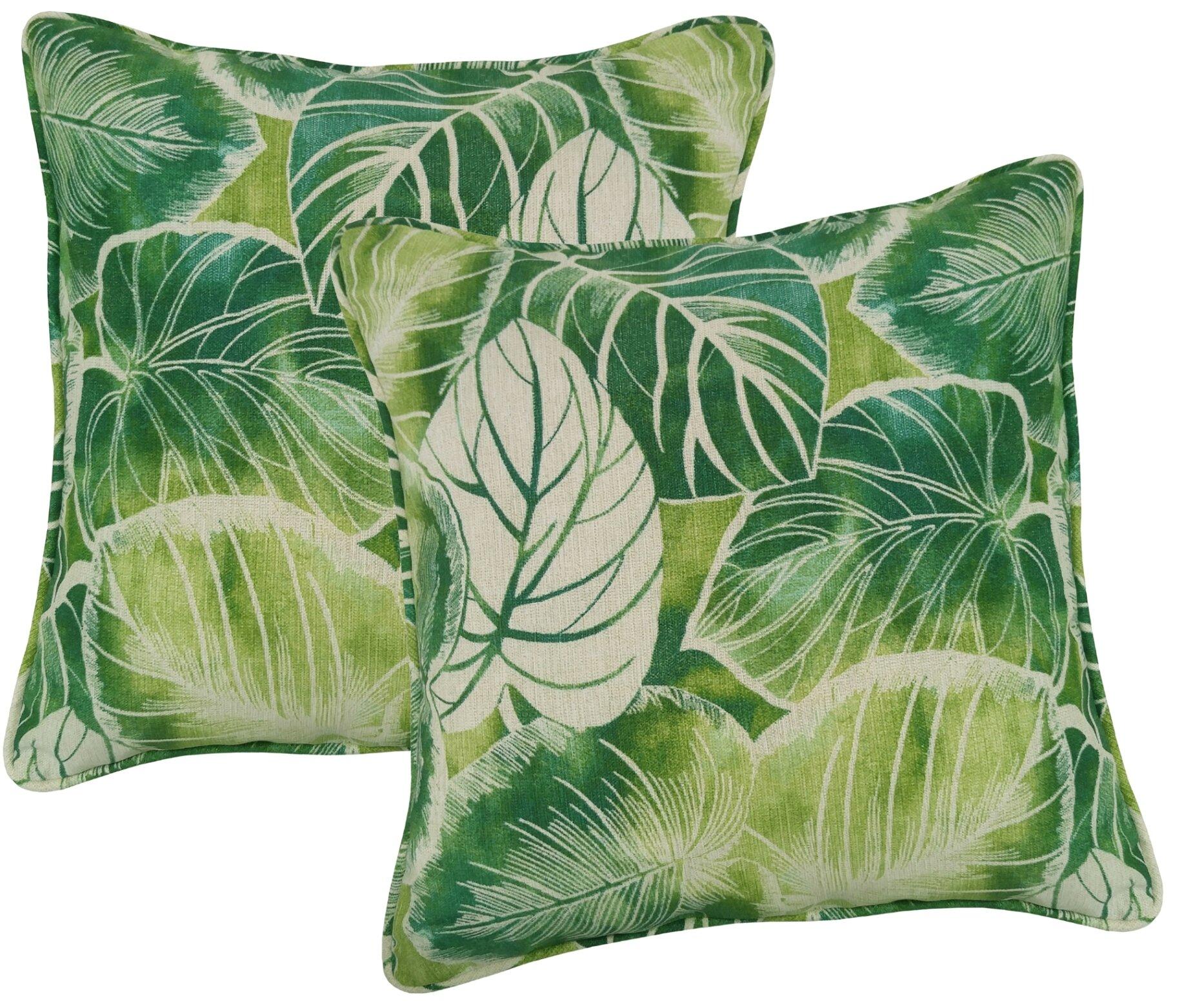 Bayou Breeze Elyssa Indoor Outdoor Throw Pillow Reviews Wayfair