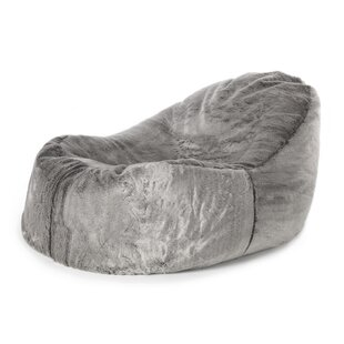 Soho Dream Giant Faux Fur Bean Bag Lounger By Alpen Home