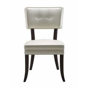 5West Amelia Genuine Leather Upholstered Dining Chair (Set of 2) by Sunpan Modern