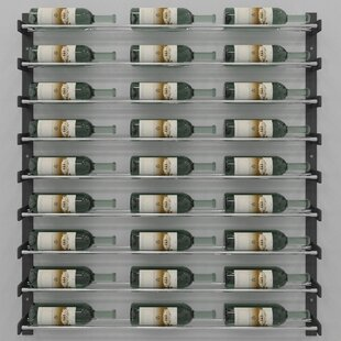 Evolution Series 27 Bottle Wall Mounted Wine Rack