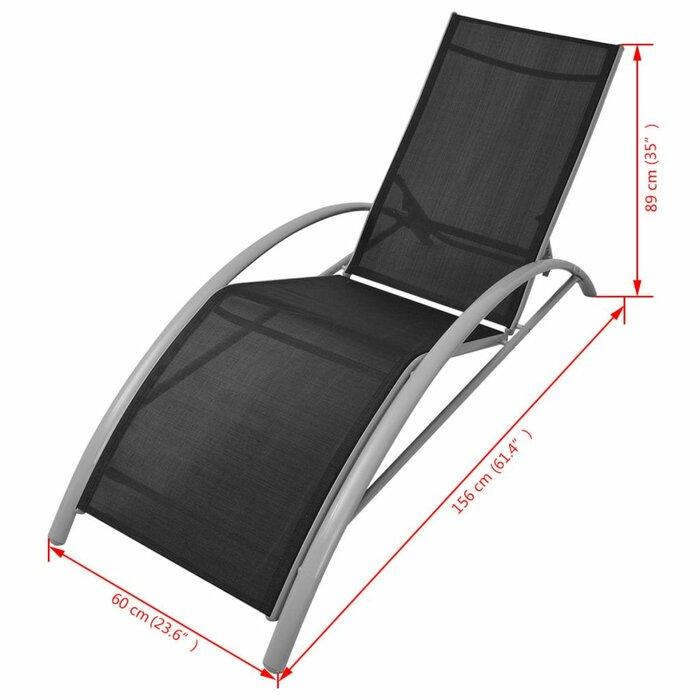 Stupendous Charline Sun Chaise Lounge Creativecarmelina Interior Chair Design Creativecarmelinacom