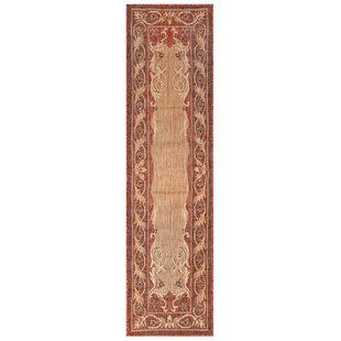 Arverne Aubusson Red/Beige Indoor/Outdoor Area Rug