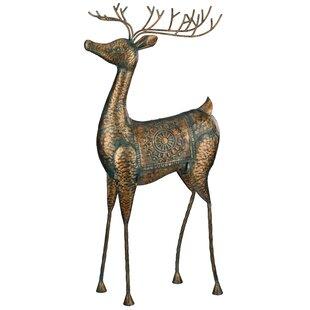 Regal Art & Gift XL Reindeer Statue