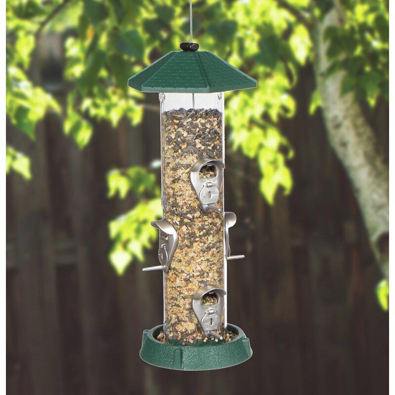 North States Hinged Port Tube Bird Feeder | Wayfair.ca