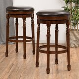 Ullman Swivel  Bar & Counter Stool (Set of 2) by Darby Home Co