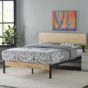 Zipcode Design Ursula Metal/Wood Platform Bed