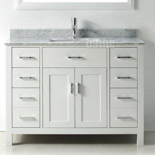 Signature Series 48 Single Bathroom Vanity Set by Belvedere Bath