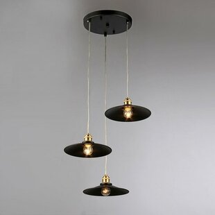 Lannie 3-Light Cascade Pendant..