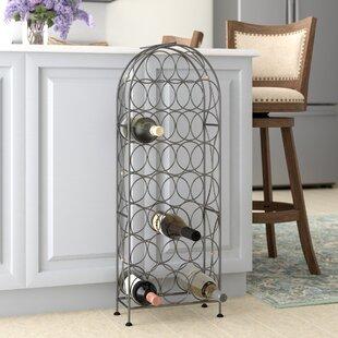 09ebe9df8479ea Bauerle 23 Bottle Floor Wine Rack