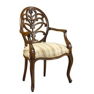 Leonetti Solid Wood Dining Chair Astoria Grand