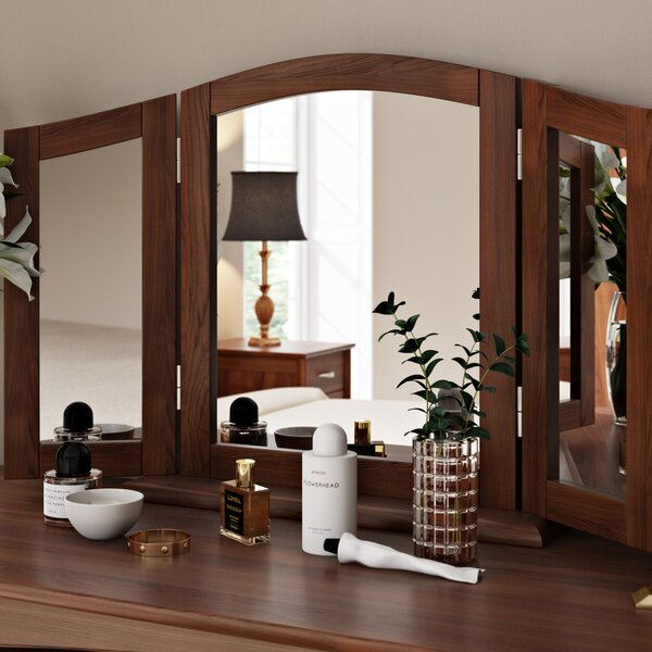kortright arched dressing table mirror