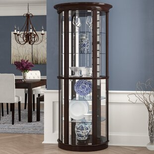 Sarcoxie Lighted Curio Cabinet