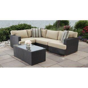 Madbury Road Salina 5 Piece Sectional Set with Cushions