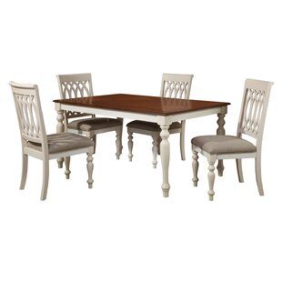 Hillenbrand 5 Piece Dining Set by Alcott Hill