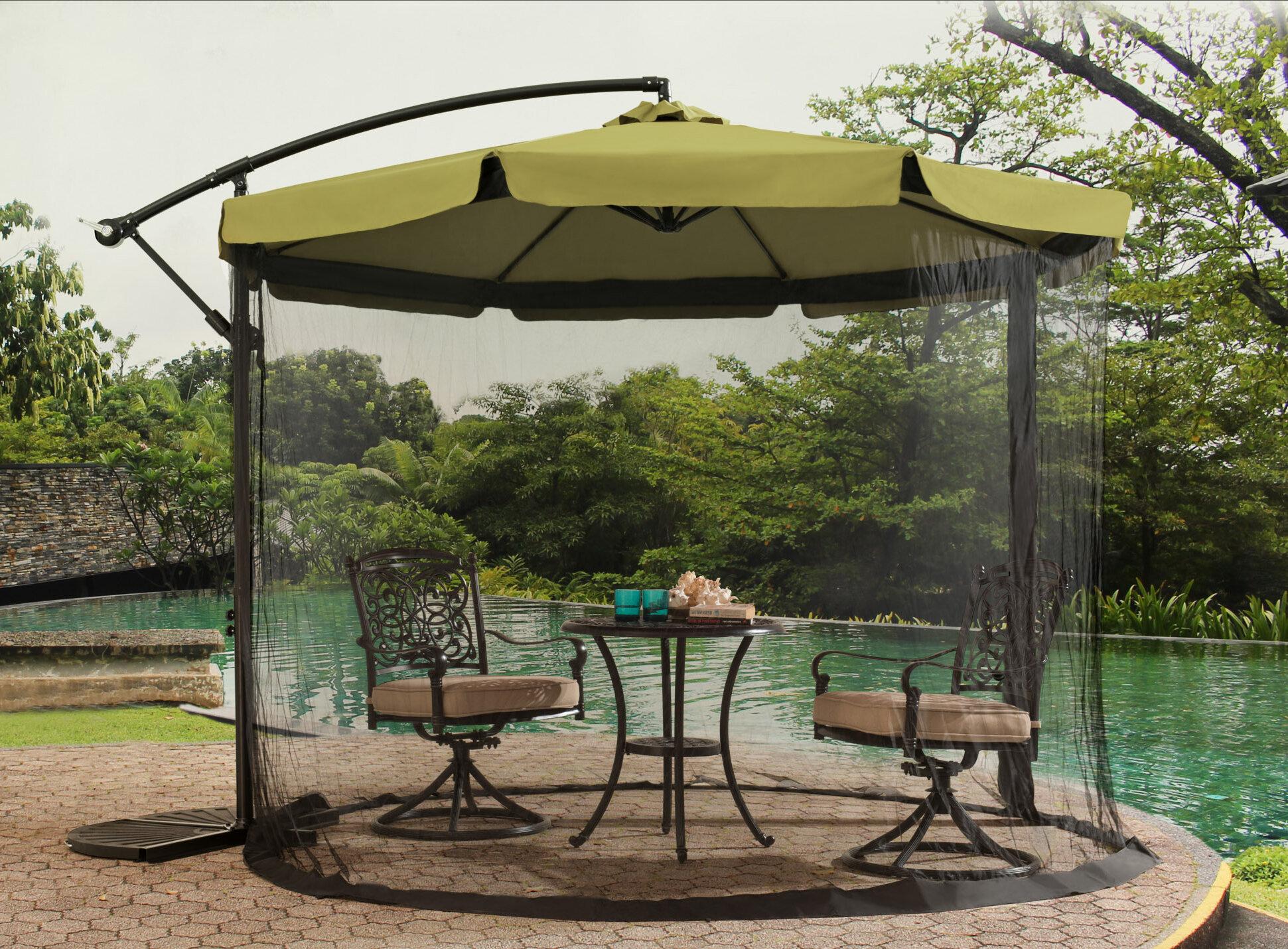 Anthea 10 Cantilever Umbrella & Reviews
