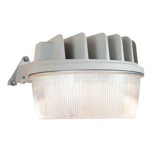 Cooper Lighting LLC 19-Watt LED Dusk to Dawn Outdoor Security Flood Light