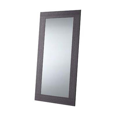 Wade Logan Cleobury Full Length Mirror Finish: Gray Oak