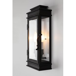 Walworth 2-Light Outdoor Flush Mount by Darby Home Co