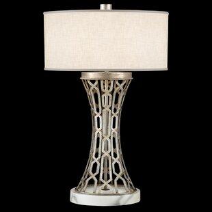 Allegretto Silver 32 Table Lamp