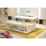 Wooden Lift-Top Coffee Table by Benzara