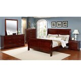Veasley Sleigh 4 Piece Bedroom Set by Alcott Hill