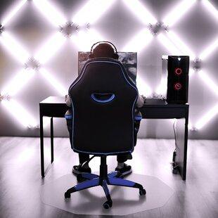 Cleartex Low/Medium Pile Straight Chair Mat By Floortex