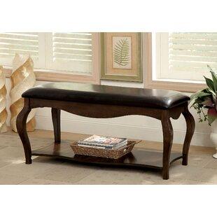 Hokku Designs Valledrie Upholstered Bench