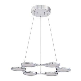 Milan 6-Light Chandelier by Kendal Lighting