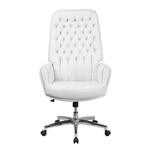 Valley High Back Traditional Tufted Executive Chair by Rosdorf Park Savings