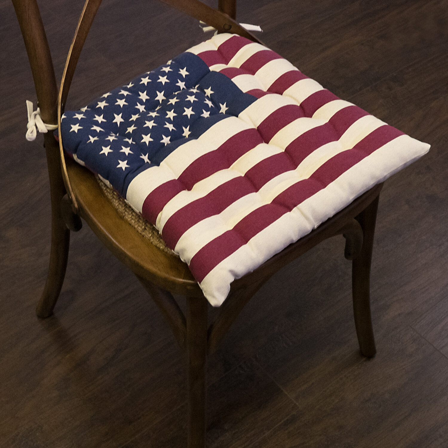 August Grove Tufted Cotton Cover Indoor Dining Chair Cushion Wayfair