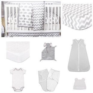 Look for Ellie Essentials 11 Piece Crib Bedding Set By The Peanut Shell