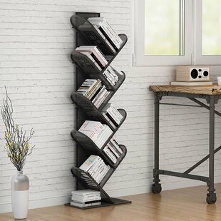 MarianaTree Geometric Bookcase by Wrought Studio