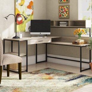 Hankins L-Shape Computer Desk