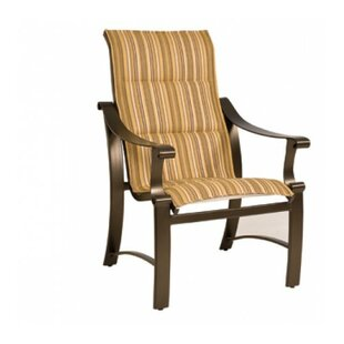 Bungalow Sling High Back Patio Dining Chair
