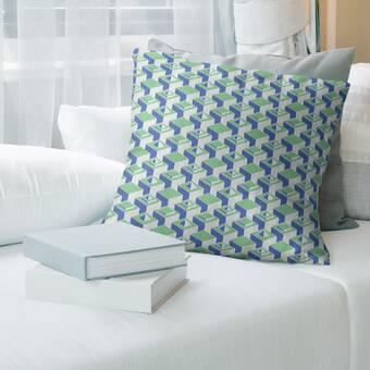 Red Barrel Studio Kinsey Wheatfield With Cypresses Indoor Lumbar Pillow Wayfair