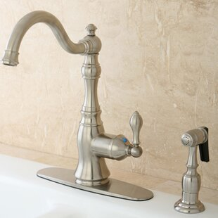 American Classic Single Handle Kitchen Faucet with Side Spray