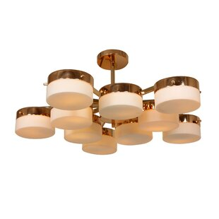 dCOR design Multiplex 10-Light Sputnik Chandelier
