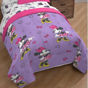 Disney Minnie Mouse Single Reversible Comforter