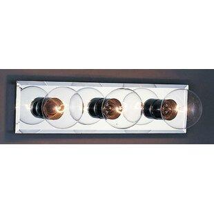 3-Light Bath Bar by Volume Lighting