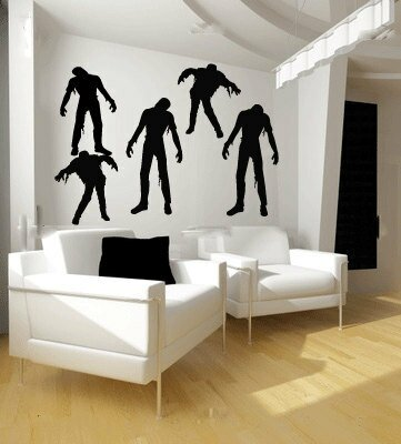 The Holiday Aisle Zombie Wall Decal | Wayfair