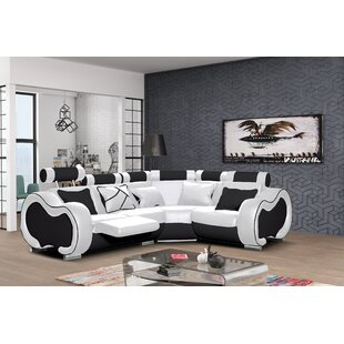 Leather Corner Sofas You\'ll Love | Wayfair.co.uk