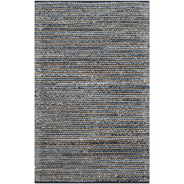 Highland Dunes Abia Dark Blue Area Rug Reviews Wayfair
