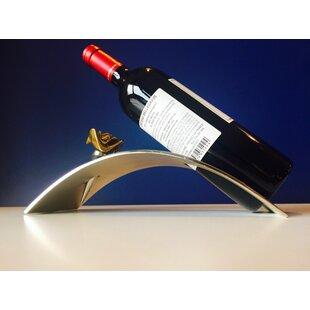 Lotus Arched 1 Bottle Tabletop Wine Rack by Peetal New York