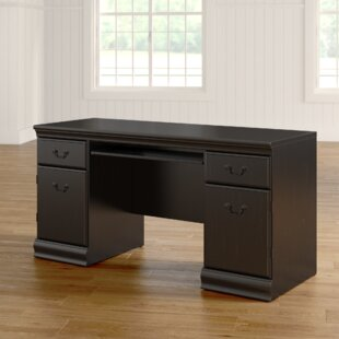 Buy clear Vittoria Computer Desk By Astoria Grand