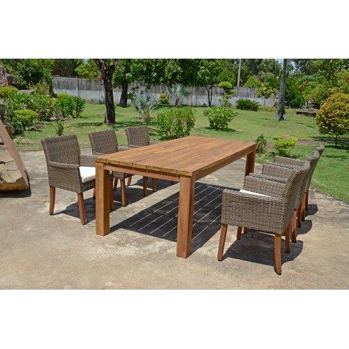6-Sitzer Gartengarnitur Vinita mit Polster Garten Living | Garten > Gartenmöbel > Gartenmöbel-Set | Garten Living