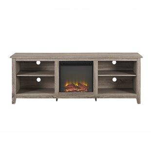 unusual solid wood media cabinet. TV Stands  Joss Main