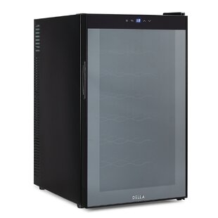 Della 24 Bottle Single Zone Freestanding Wine Cooler
