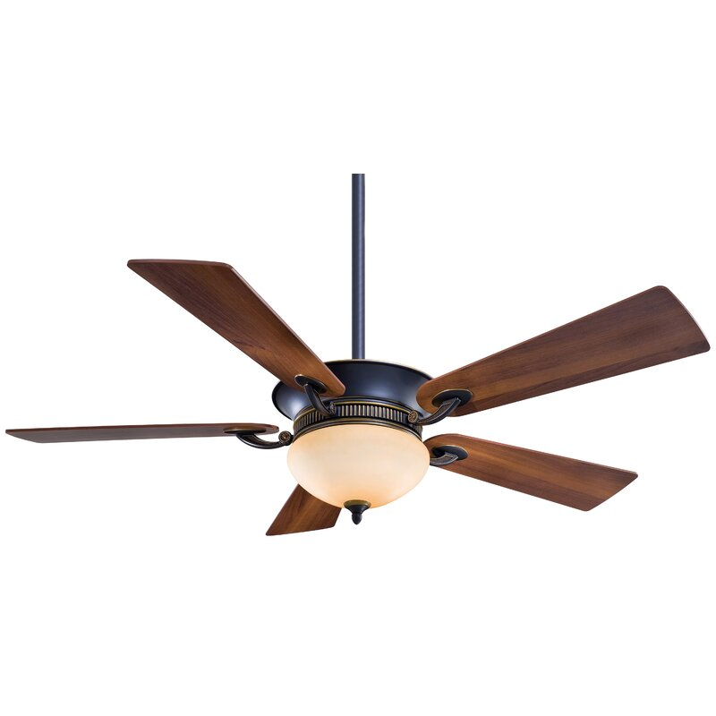 Minka aire 52 delano ii 5 blade led ceiling fan reviews wayfair 52 delano ii 5 blade led ceiling fan aloadofball Images